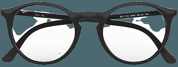 Ray-Ban prescription glasses RB7132 Black - Injected - 0RX7132200050 | Ray-Ban® USA