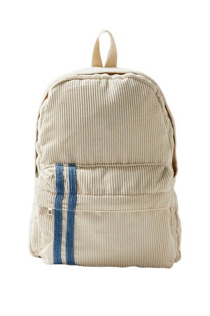 Two-Stripe Corduroy Backpack | Urban Outfitters