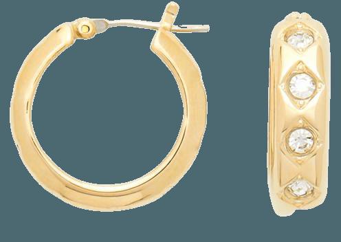Crystal Star Mini Hoops – Draper James