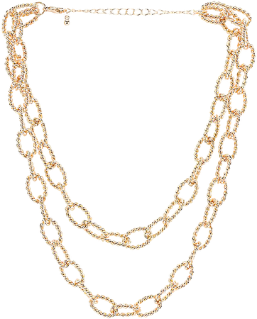 8 Other Reasons Saylor Chain Necklace in Gold | REVOLVE