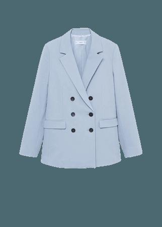 Structured suit blazer - Women   Mango USA
