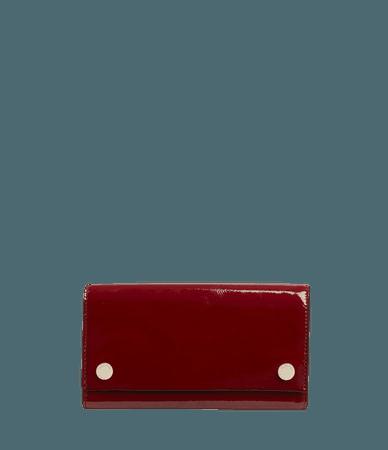 ALLSAINTS US: Womens Holland Leather Wallet (liquid_rouge)