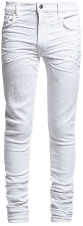 STACK JEAN WHITE