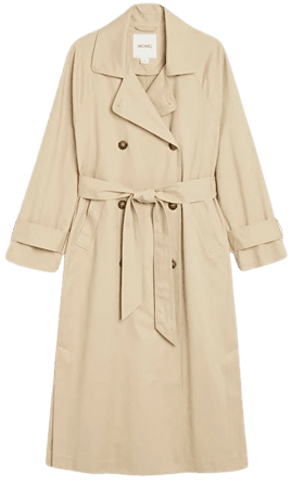 Classic trench coat - Beige - Coats - Monki WW
