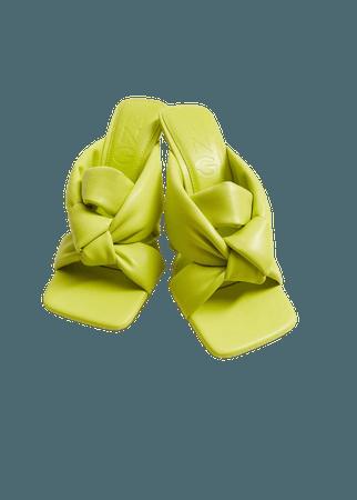 Knot heel sandals - Women   Mango United Kingdom