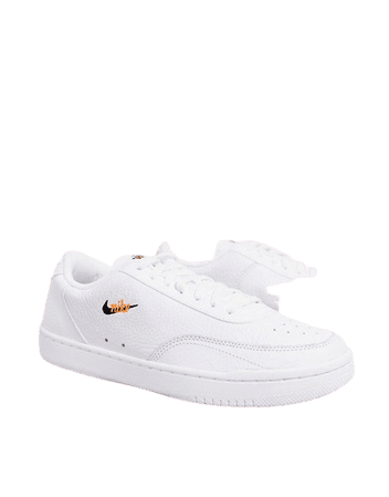 Nike Court Vintage sneakers in white | ASOS