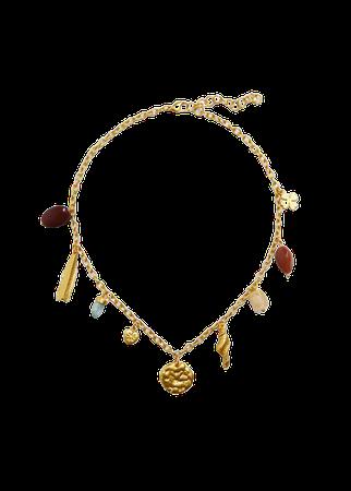 Mixed bead necklace - Women | Mango USA