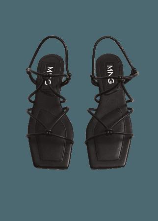 Straps knots sandals - Women | Mango USA