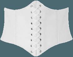 white underbust corset belt - Google Search