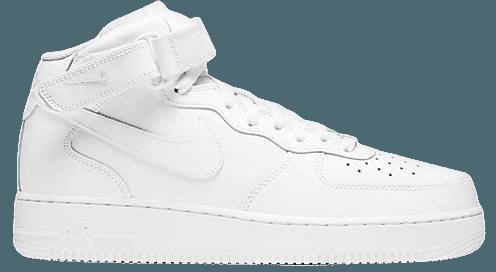 Nike Air Force 1 '07 Mid sneakers in white   ASOS