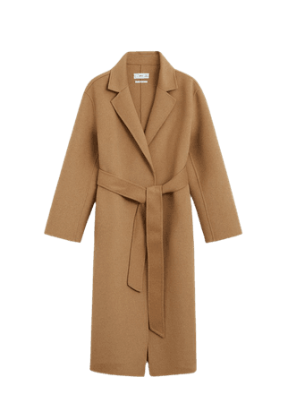 Handmade wool coat - Women | Mango USA