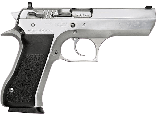 Black & Silver Tactical Hand Gun