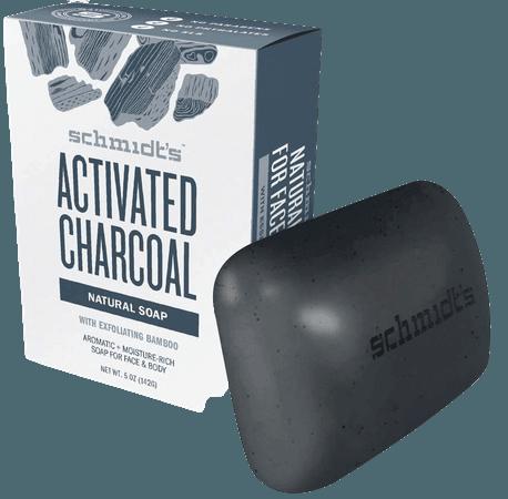 Schmidt's Activated Charcoal Bar Soap – Activated Charcoal All Natural Bar Soap – Schmidt's Naturals