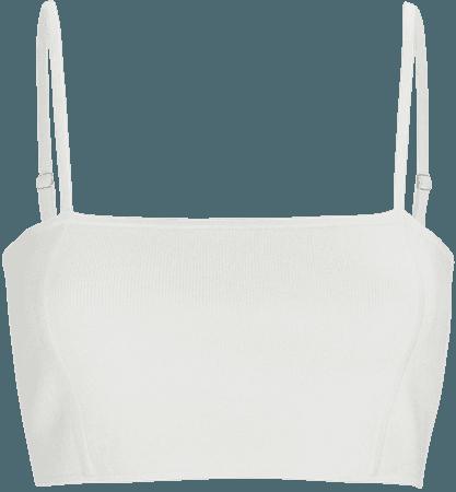 A.L.C. Winnie Knit Crop Top | INTERMIX®