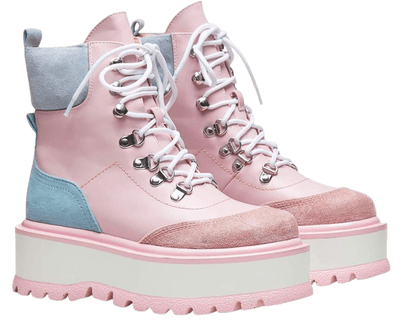 HYDRA Matrix Kawaii Platform Boots | Koi