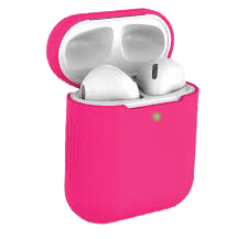 hot pink airpods
