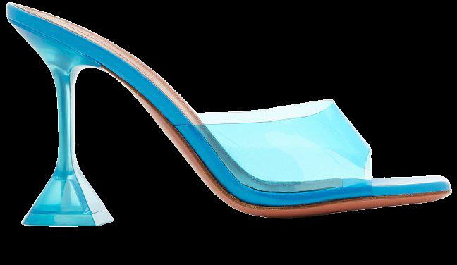 Lupita Pvc Sandals By Amina Muaddi | Moda Operandi