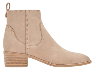 ABLE BOOTIES IN DUNE SUEDE – Dolce Vita