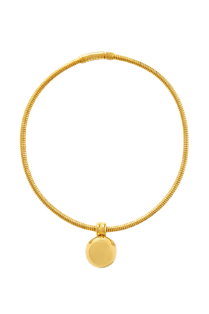 Gold Gold-tone necklace   Bottega Veneta   NET-A-PORTER