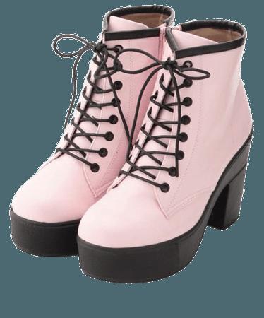 Pastel Goth Heels
