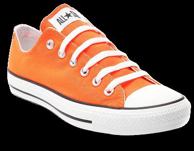 Orange Converses