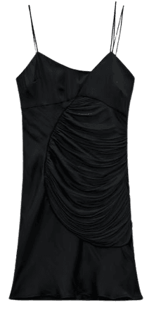DRAPED MINI DRESS | ZARA United States