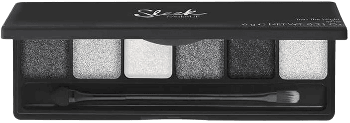 eyeshadow black and silver palatte - Google Search
