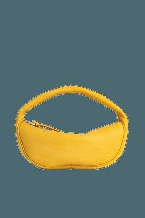 Cush Yellow Flat Grain Leather – BY FAR