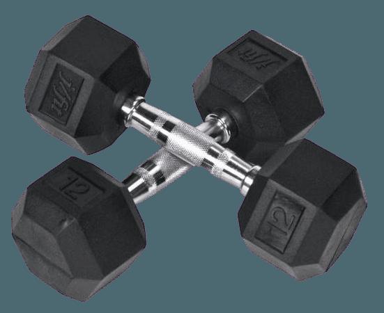 Hex Barbells (12 lbs.)