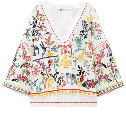EMBROIDERED SHIRT | ZARA United States
