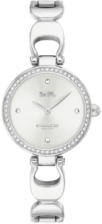 COACH Park Crystal Bangle Watch, 26mm | Nordstrom