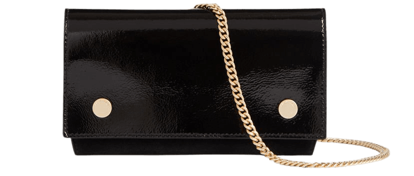 ALLSAINTS US: Womens Albert Leather Wallet (liquid_black)