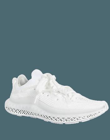 adidas Originals 4D Fusio sneakers in triple white | ASOS