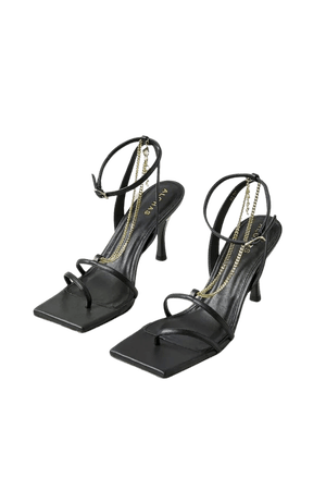 Alohas Straps Chain Heeled Sandal | Urban Outfitters