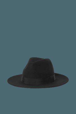 Felted Wool Hat - Black - Ladies   H&M US