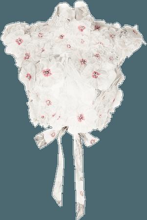 Shop multicolour Zimmermann 3d floral detail blouse with Express Delivery - Farfetch
