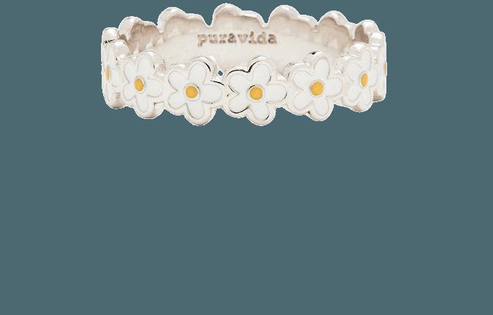 Painted Blooms Ring | Pura Vida Bracelets