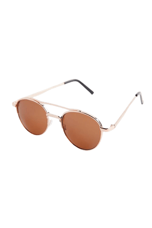 Taisha Metal Round Sunglasses | Urban Outfitters
