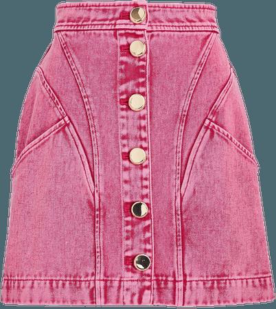 Acler Florence Denim Mini Skirt   INTERMIX®