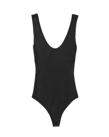 Women's Scoopneck Knit Bodysuit   Women's New Arrivals   Abercrombie.com