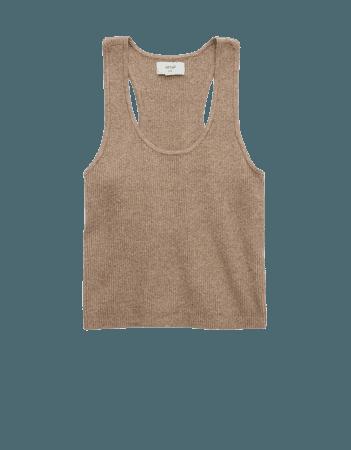 Aerie Sweater Tank Top