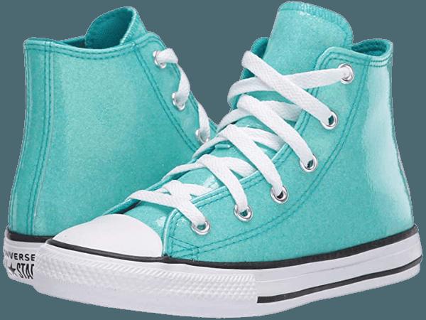 Converse Kids Chuck Taylor® All Star® Coated Glitter (Little Kid/Big Kid) | 6pm