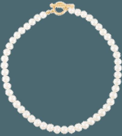 Meadowlark Fob Pearl Necklace - Farfetch