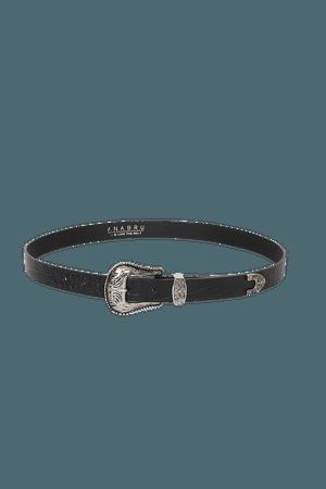 Ana Bru by B-low the Belt Wild West - Black Belt - Leather Belt - Lulus