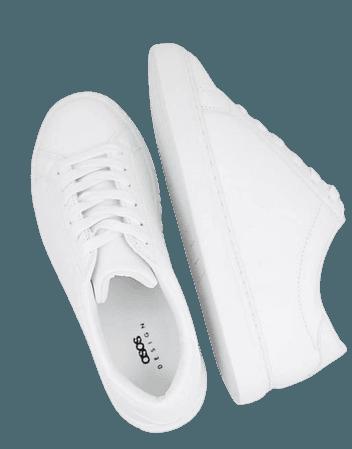 ASOS DESIGN Drama sneakers in white | ASOS