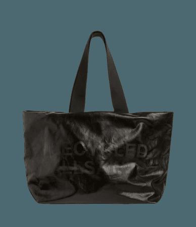 ALLSAINTS US: Womens Acari Print Tote Bag (liquid_black)