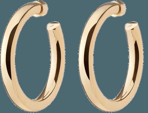Jennifer Fisher - BABY SAMIRA HOOPS Gold Earring