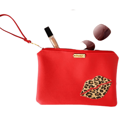 Wristlet Clutch In Vixen - Simply9 Designs - MW House of Style