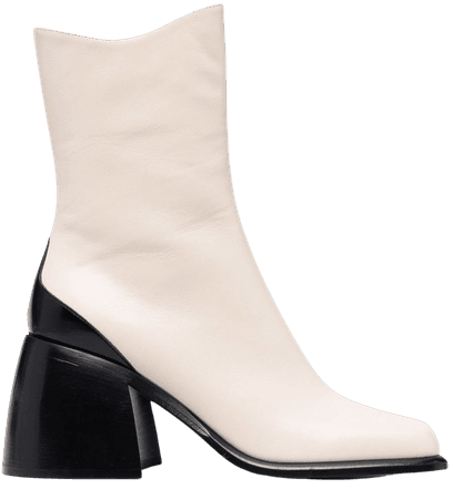 Wandler square-toe Ankle Boots - Farfetch