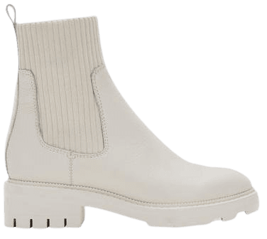 LINZA BOOTS IN IVORY LEATHER – Dolce Vita